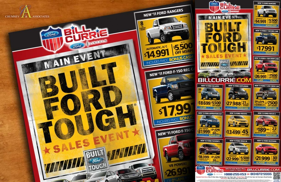 Bill Currie Ford Built Ford Tough