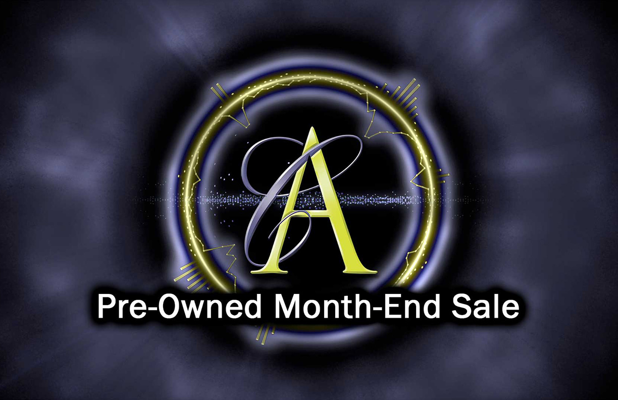 Pre-Owned Month End Sale